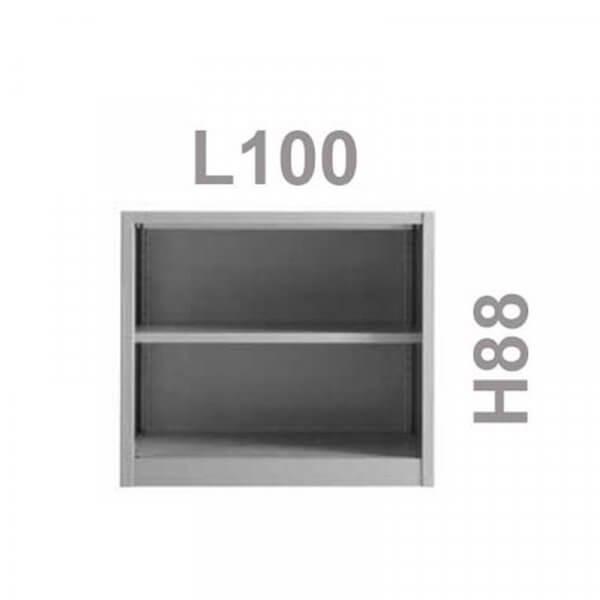 Armadio basso a giorno 100x88