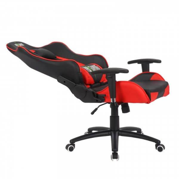 Poltrona Mebgaming reclinata rossa