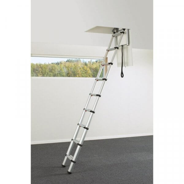Scala retrattile loft