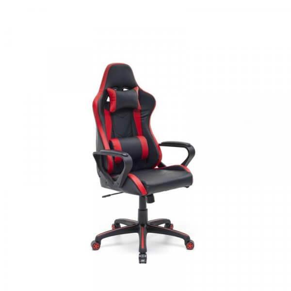 Sedia gaming Salmar rosso nera