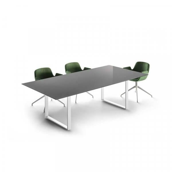 Tavolo riunioni About-Office in vetro