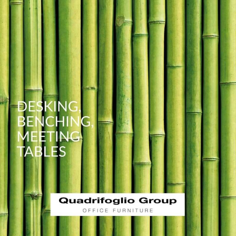 Desking benching catalogo Quadrifoglio