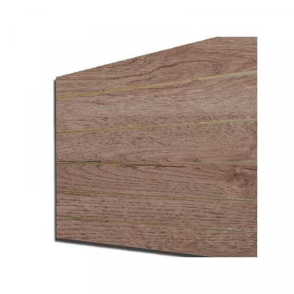 Pannello dogato colore Acero finlandia 120x120