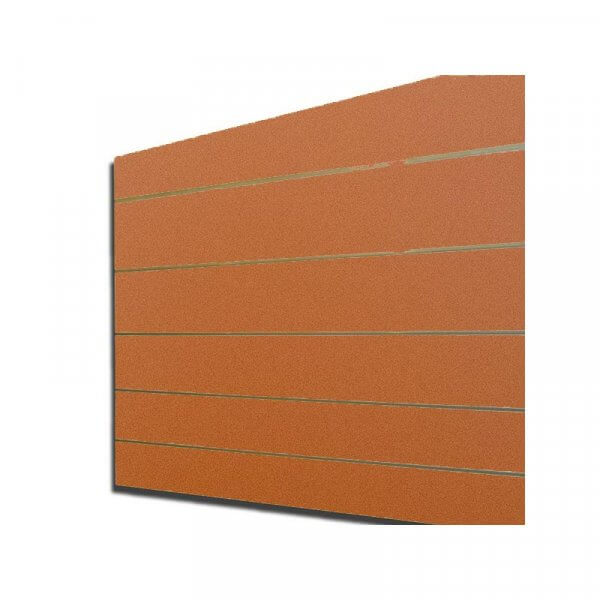 Pannello dogato colore Arancione 120x120