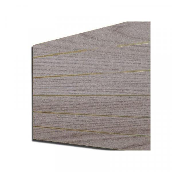 Pannello dogato colore Olmo chiaro 120x120