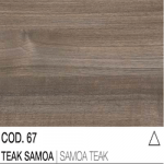 67 Teak Samoa
