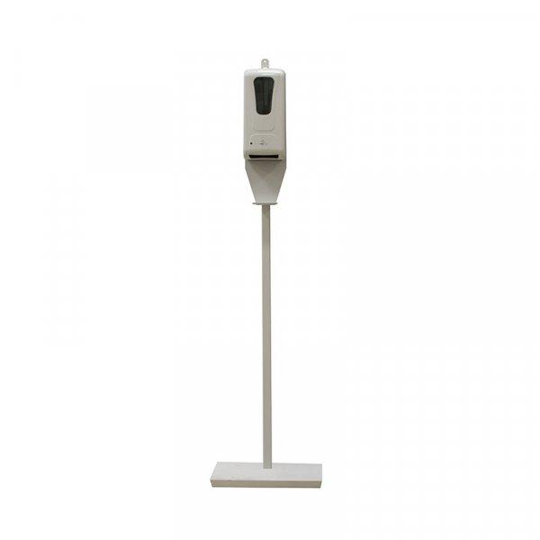 Colonnina con dispenser automatico per gel igienizzante