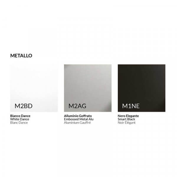 Cartella colori cassettiere metalliche
