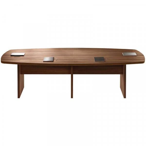 Tavolo riunione fianco legno sagomato About Office