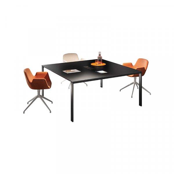 Tavolo riunioni quadrato gamba U