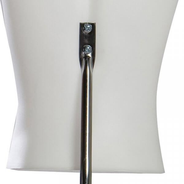 Attacco posteriore Torso donna base in metallo attacco schiena