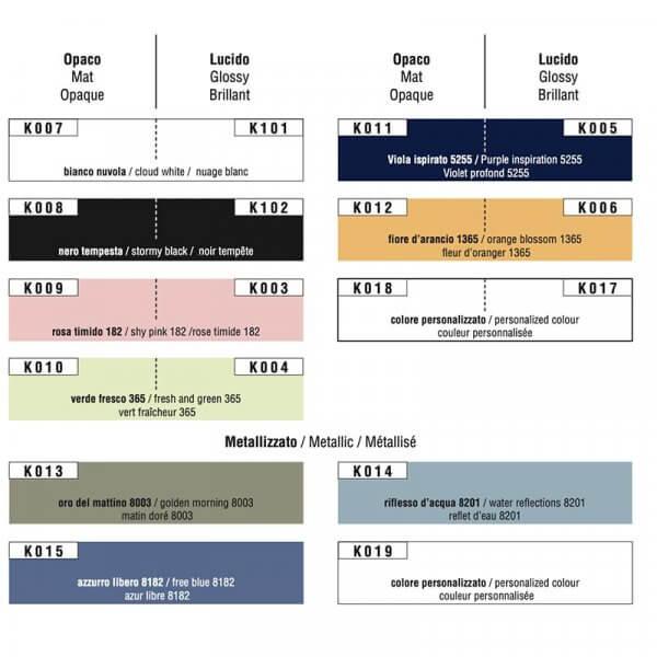 Cartella colori Scrivania Uno e Zero