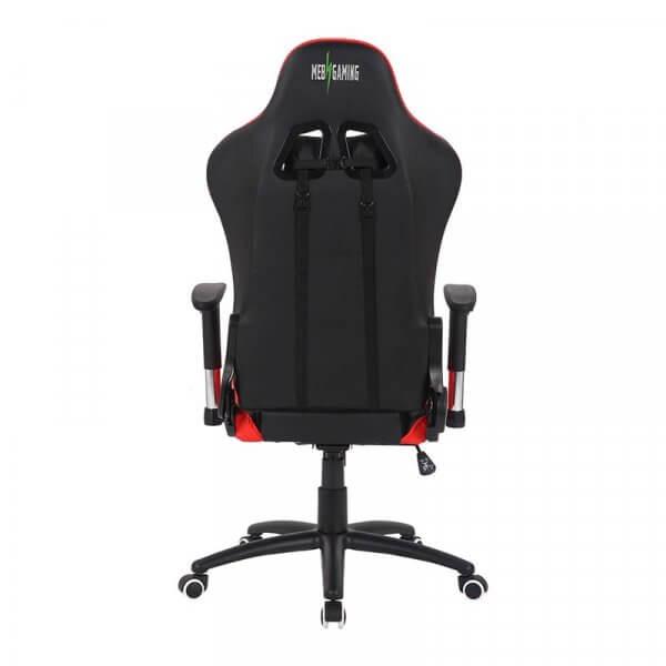 Sedia da Gaming MB rosso-nera retro